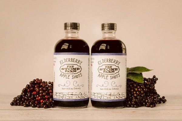 Elderberry Apple Shots, 2 Pack