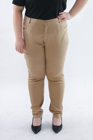 Basic Trousers In Brown