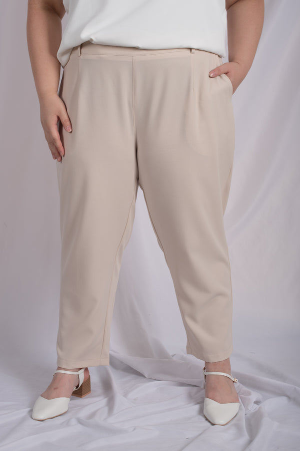 Suit Trousers In Beige