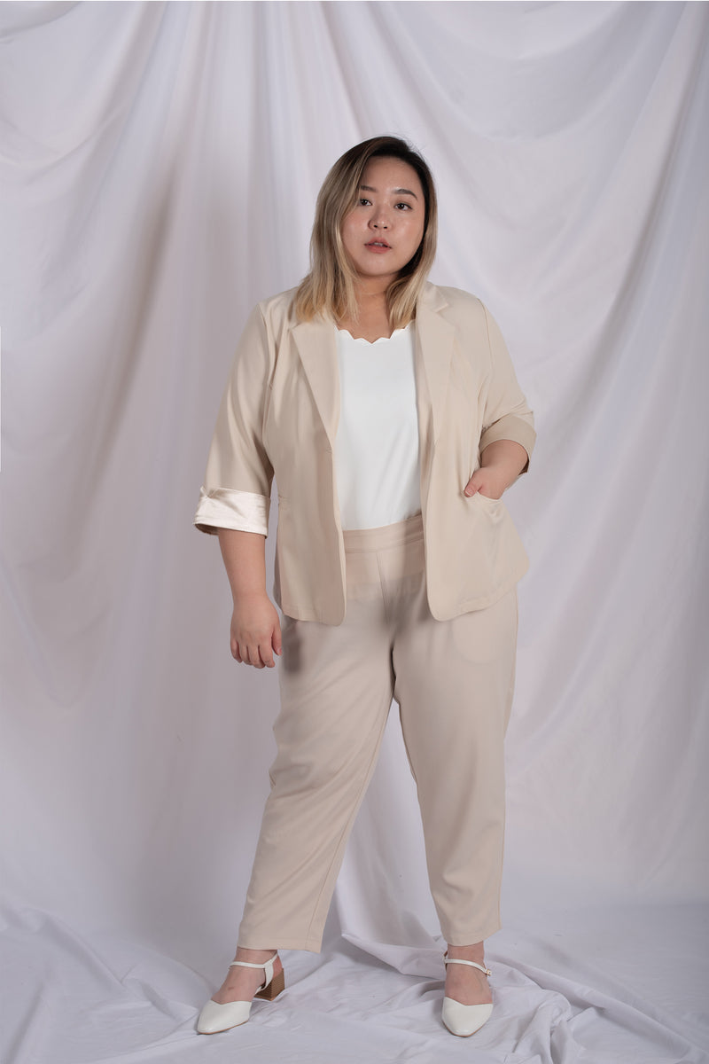 Blazer In Beige