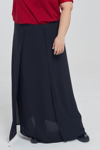 Maxi Culottes In Black