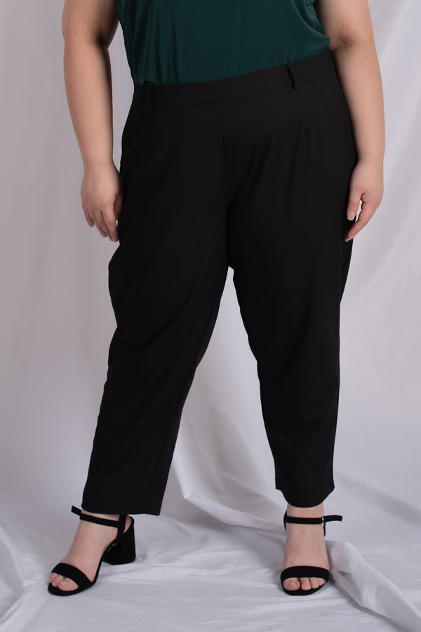 Suit Trousers In Black