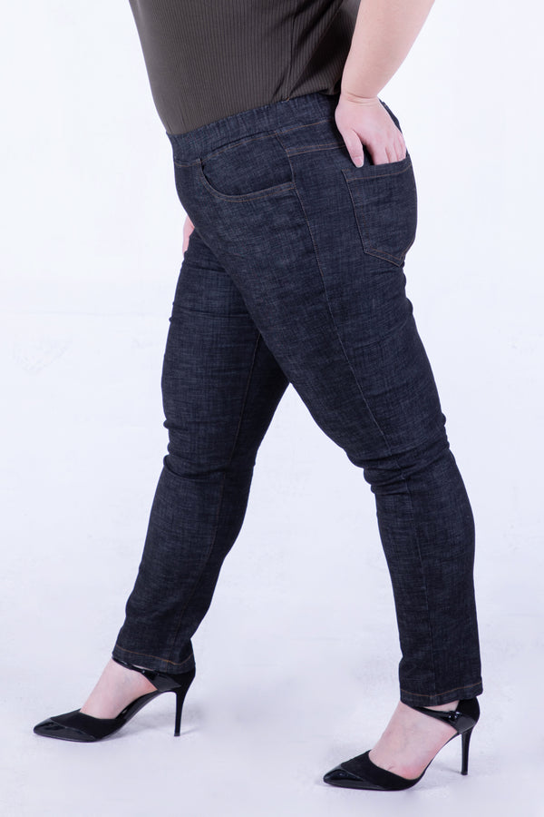 #allbodies Super Stretch Jeans In Black