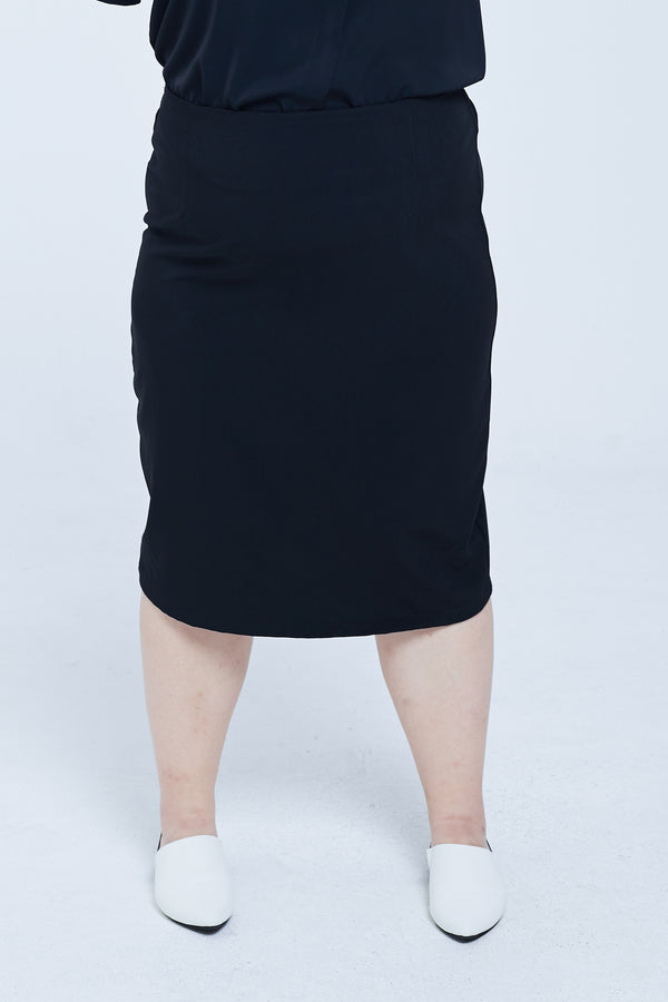 Pencil Skirt In Black