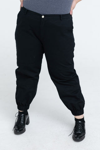 Combat Trouser In Black