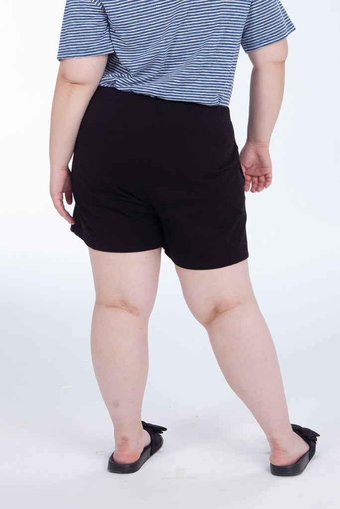 Basic Shorts In Black