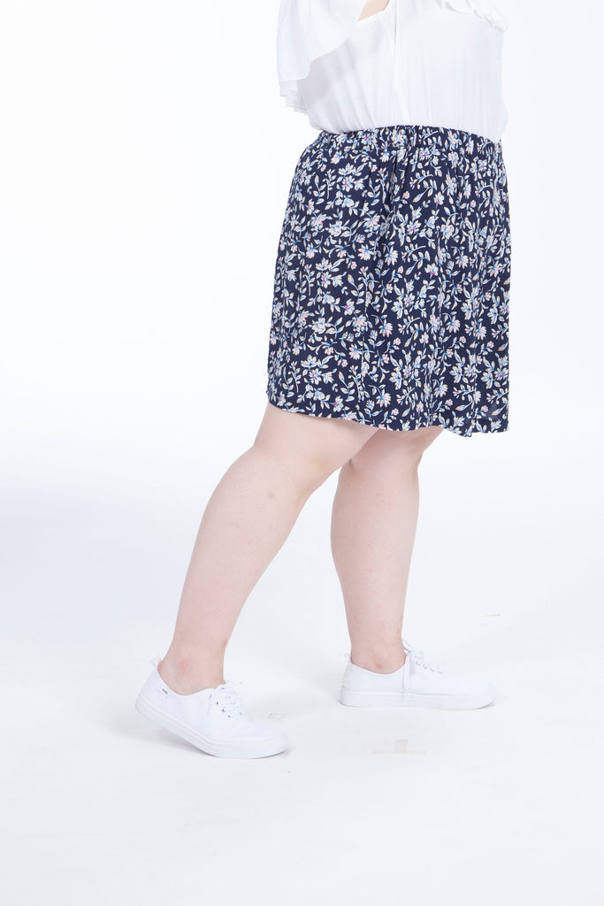 Culotte Shorts In Floral Print