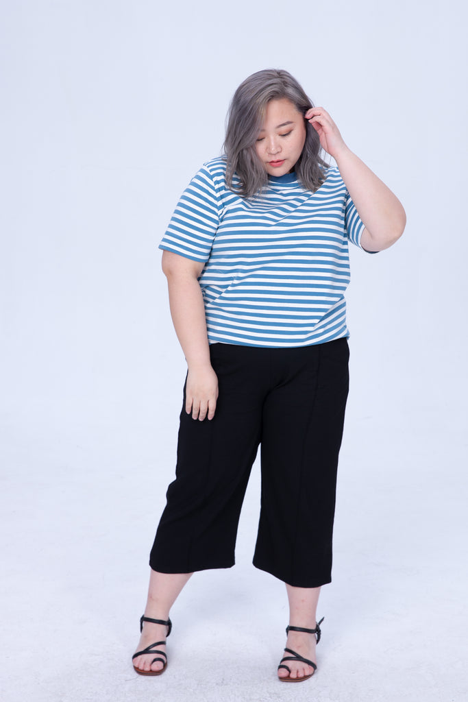Stripe T-Shirt In Blue