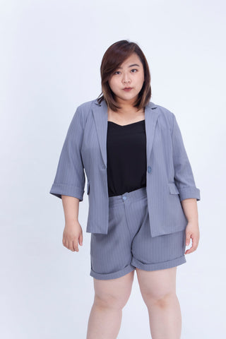 Blue Stripe Blazer