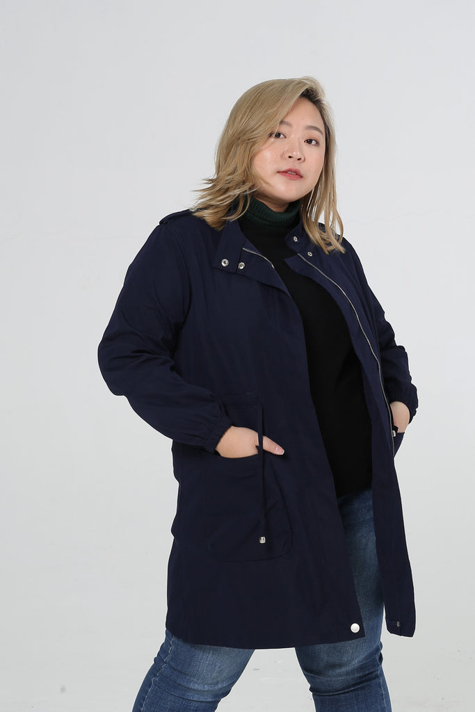 Parka In Blue