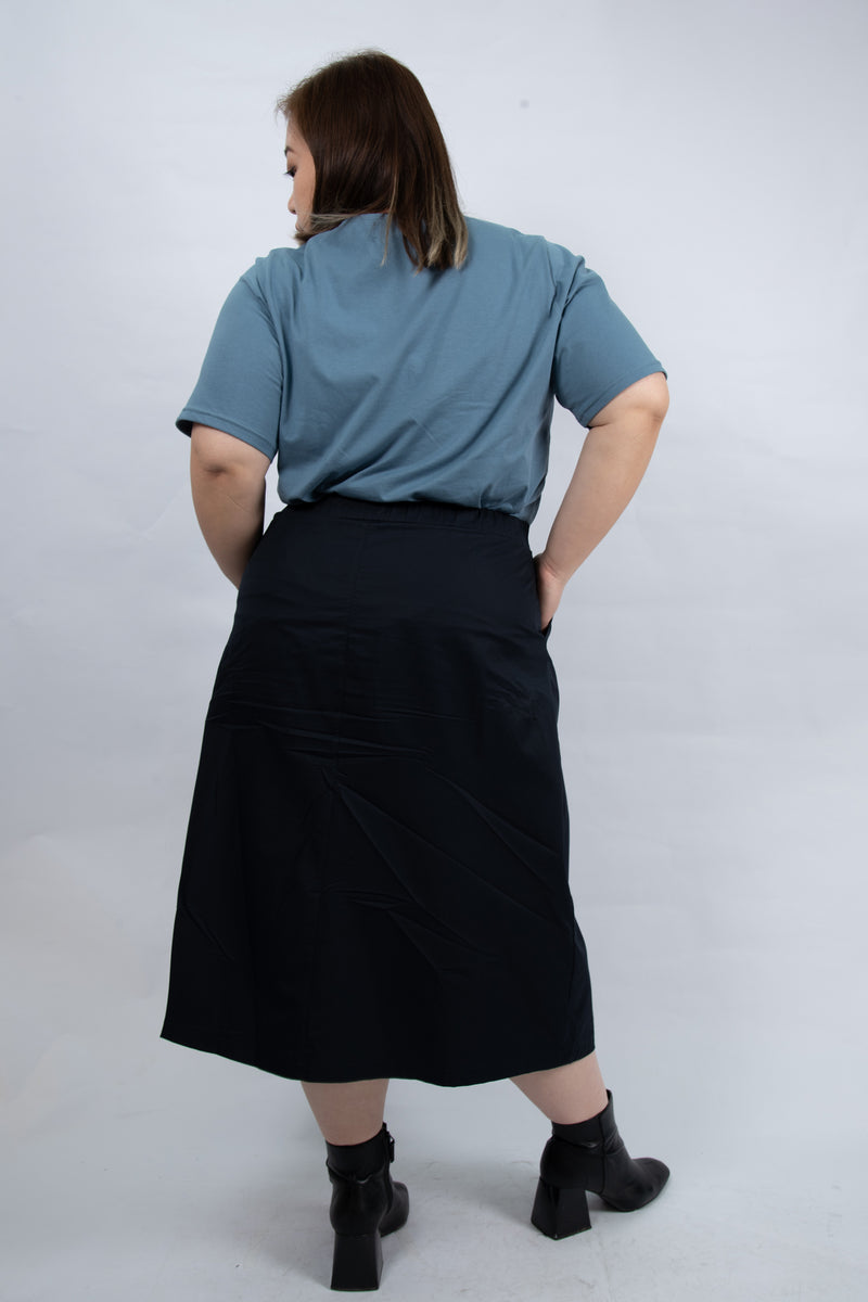 Midi Skirt In Blue