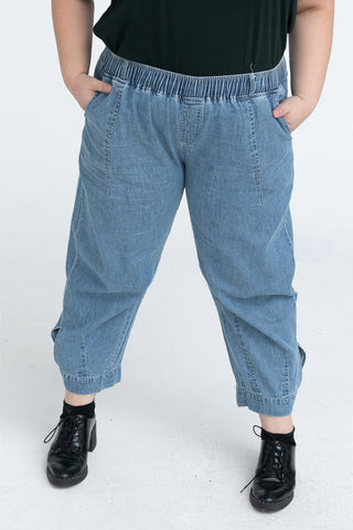 Elastic band Denim Jeans
