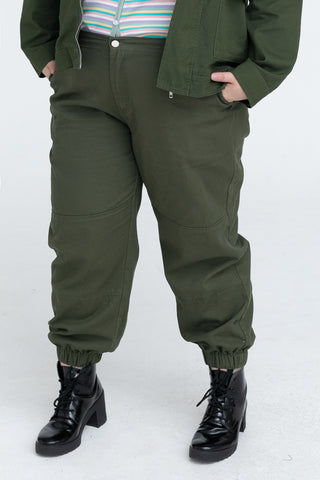 Combat Trouser In Green