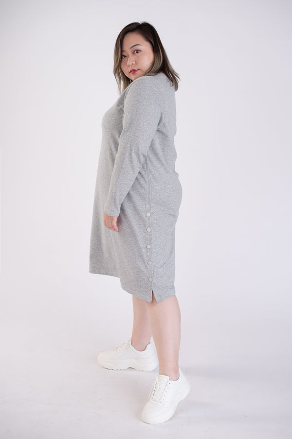 Sweat Dress In Grey
