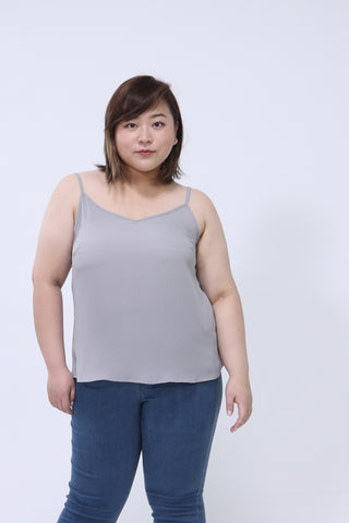 49d696f0d1 Basic Cami Top In Grey
