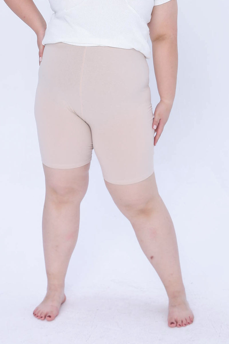 Safety Shorts In Beige