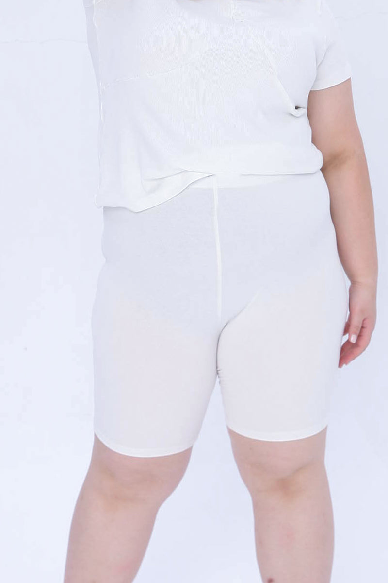 Safety Shorts In White