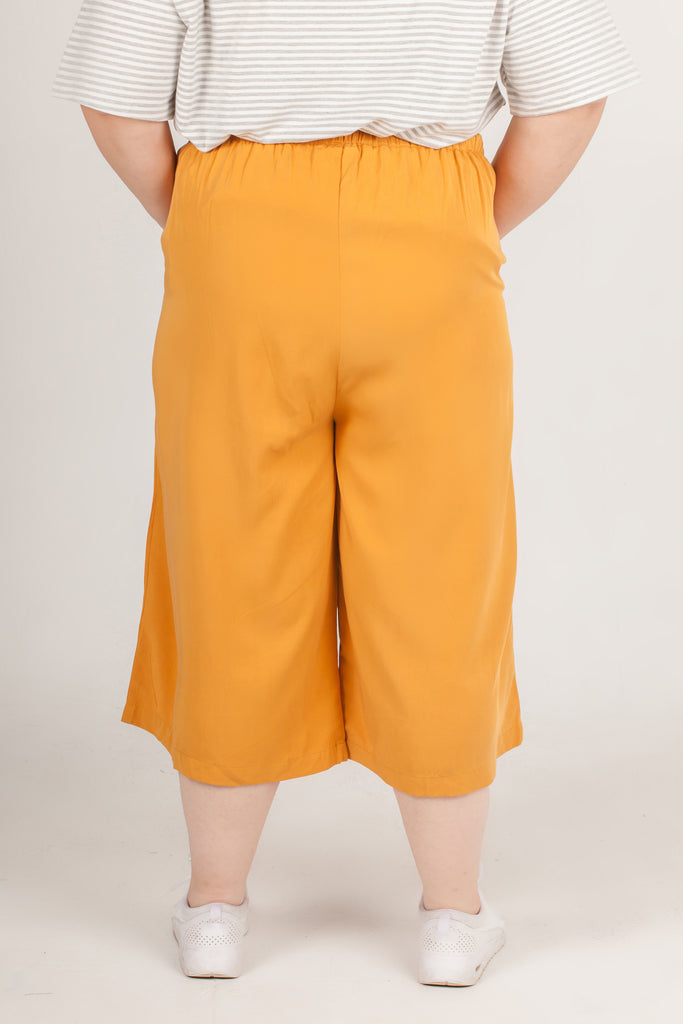 Blonde Yellow Long Pants