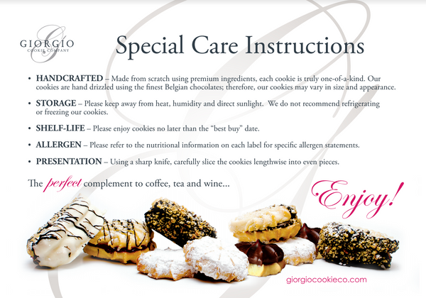 special care instructions - Giorgio