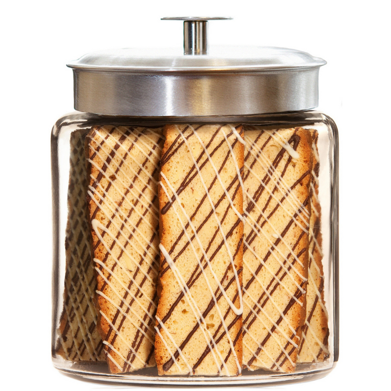 White Chocolate Raspberry Cookie Jar