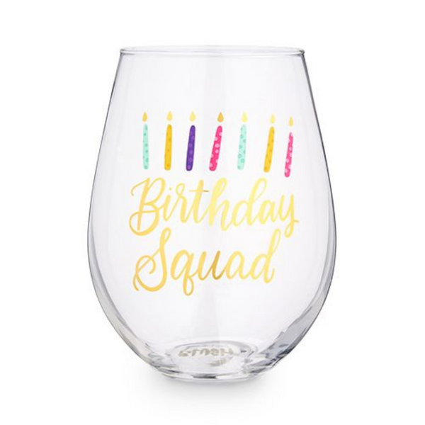 Birthday Squad - Wine Glass