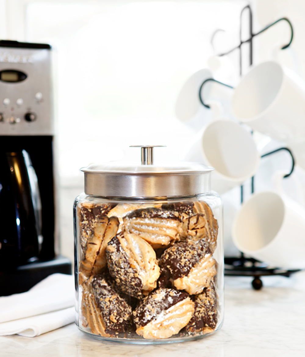 Dark Chocolate Hazelnut Cookie Jar