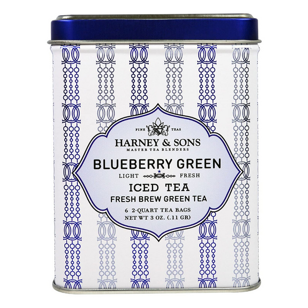 Harney & Sons - Blueberry Green ICED TEA  (6 Ct)