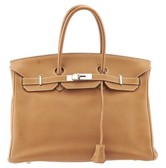 Hermes Birkin 35cm Tan Epsom Leather Satchel