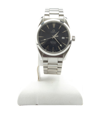 Omega Aqua Terra Seamaster Stainless Steel Quartz Watch