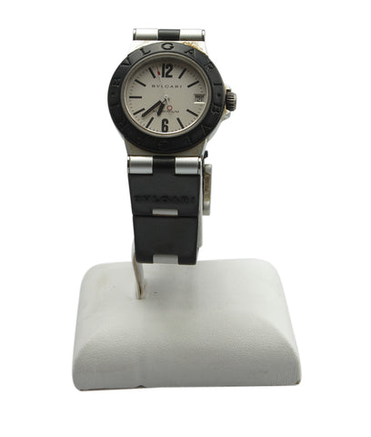Bvlgari Aluminum AL 32 TA  Stainless Steel Quartz Watch