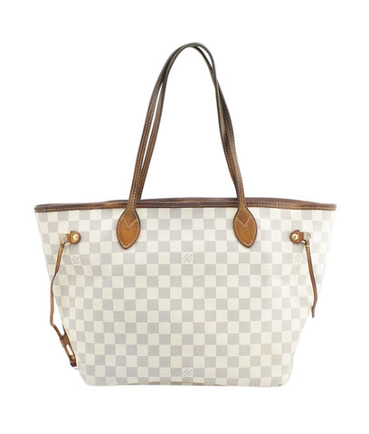 Louis Vuitton N51107 Neverfull MM Damier Azur Tote