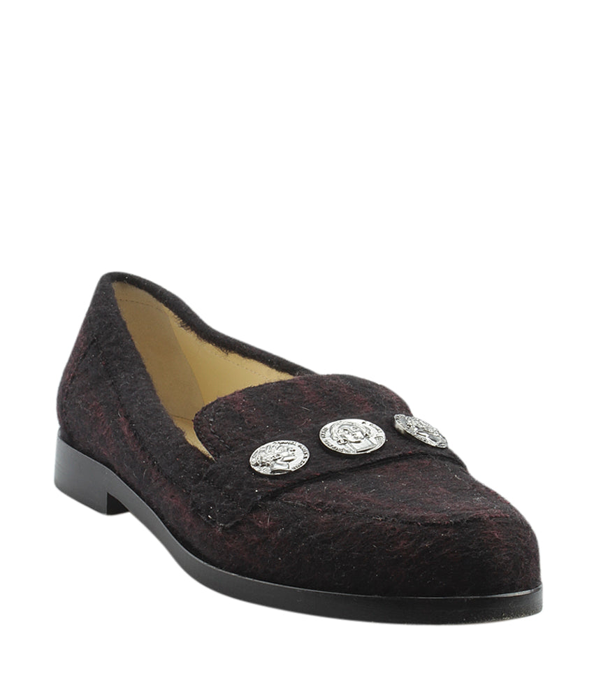be28bbf15d Chanel Multi-Color Fabric Loafers, Size 38.5 | Cash In My Bag