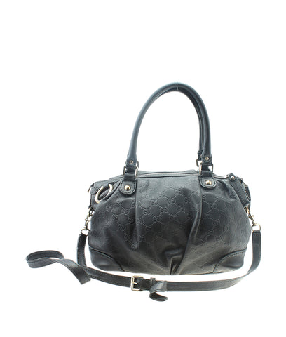 Prada BR1511 Buffalo Black Nylon Shoulder Bag
