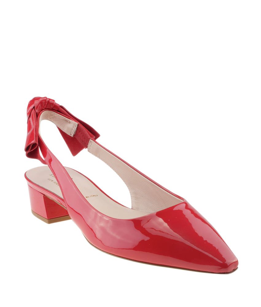38fd138c8af9 ... Kate Spade Lucia Red Patent Leather Slingback Heels