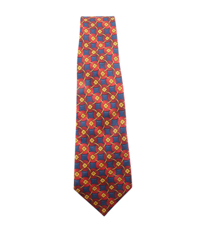 Lanvin Multi-Color Silk Necktie