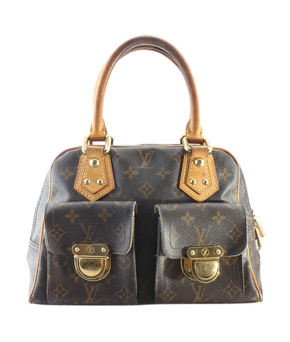 Louis Vuitton M30213 Grigori Blue Taiga Leather Tote Bag