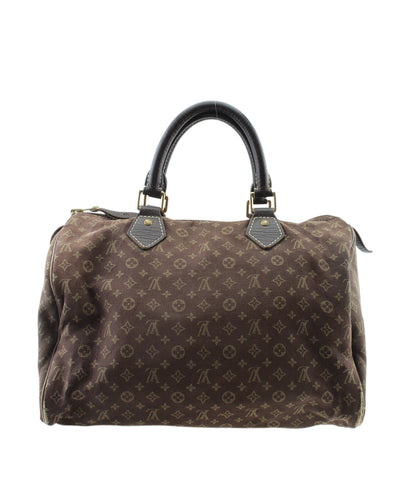 Louis Vuitton M95224 Mini Lin Speedy 30 Canvas Satchel Bag
