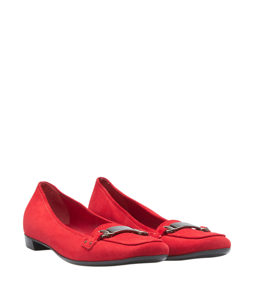 73dee24220b low cost red prada loafers 8e5d3 5043f