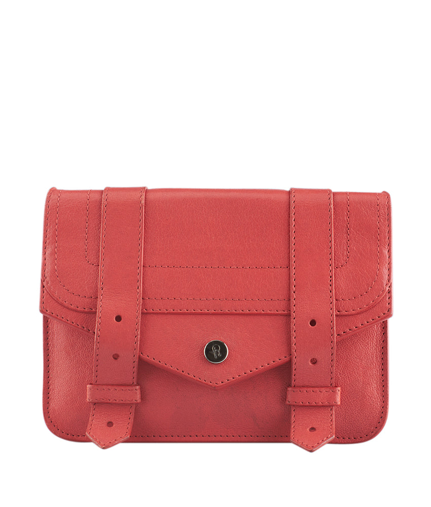 Proenza Schouler PS1 Wallet On Chain Pink Leather Crossbody Bag