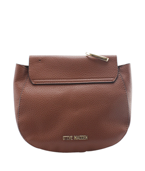 4192559984 Steve Madden Kaia Chain Small Saddle Brown Leather Bag   Cash In My Bag