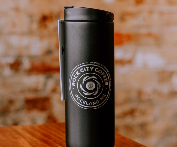 16oz Rock City MiiR Black Travel Tumbler