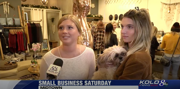 Sierra Belle Featured on Kolo 8 for Small Business Saturday