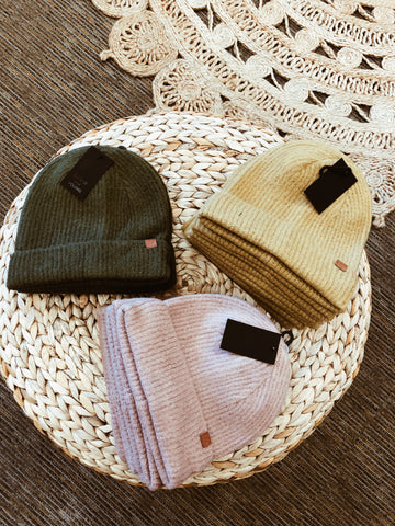 womens trendy clothing boutique beanies