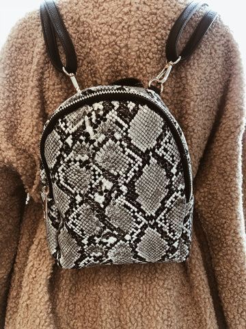 christmas gift stocking stuffer snakeskin backpack