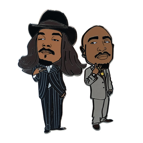 2 Of Amerikaz Most Wanted Lapel Pin
