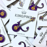 Prince Guitar Lapel Pin.