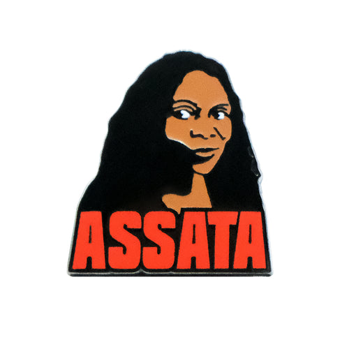 Assata Shakur Lapel Pin