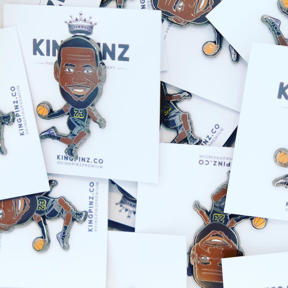 LeBron James Lapel Pin