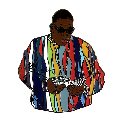 Biggie Lapel Pin.