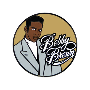 Bobby Brown Lapel Pin